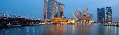 Singapoure, Marina Bay and Downtown